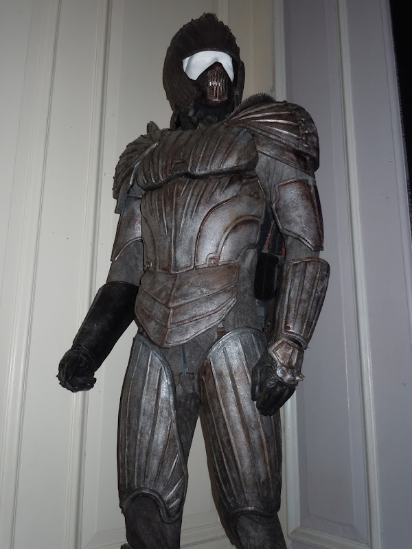 Necromonger warrior armour Chronicles of Riddick