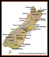 South Island Driving &amp; Distance Calculator
