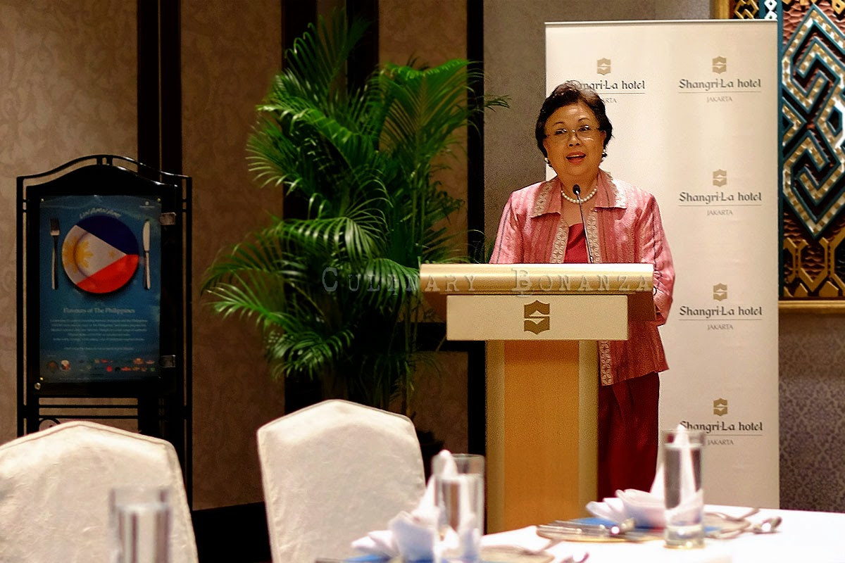 Her Excellency Maria Rosario C. Aguinaldo, Ambassador of The Philippines to Indonesia