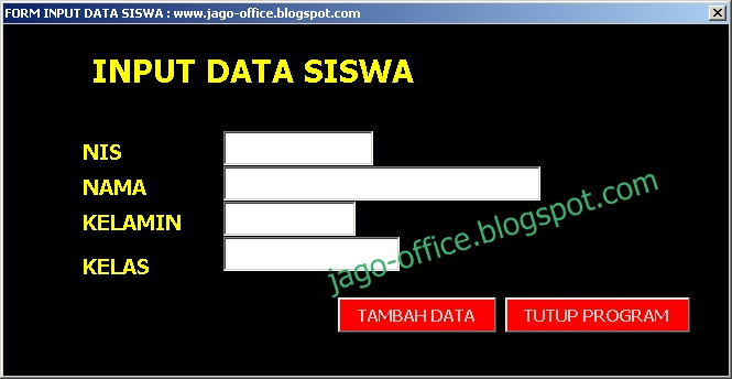 Download Aplikasi Gratis Database Siswa Excel