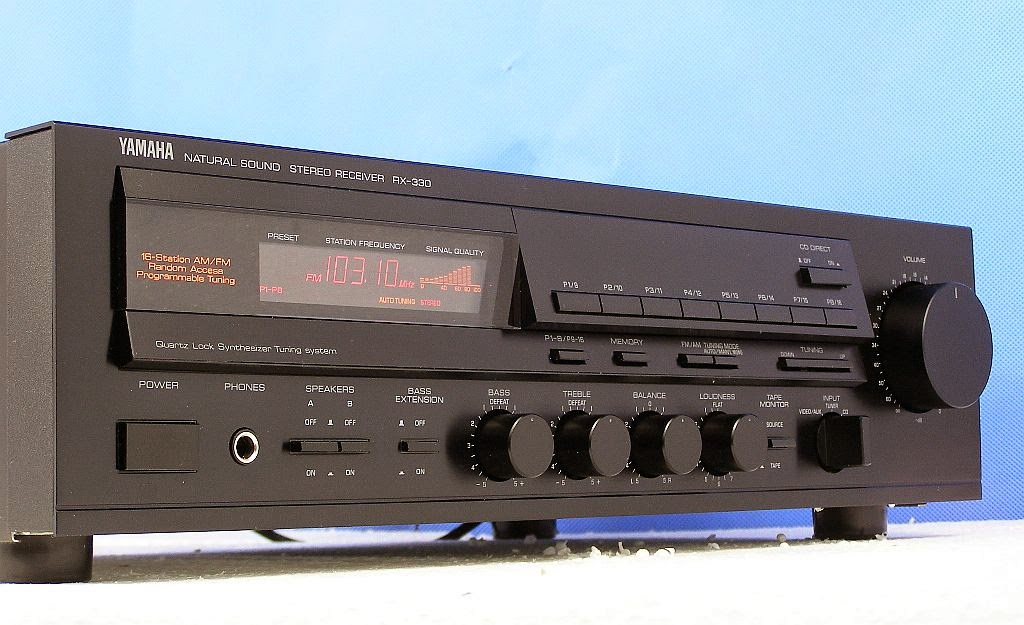 Yamaha rx 330 stereo receiver audiobaza for Yamaha stereo reciever