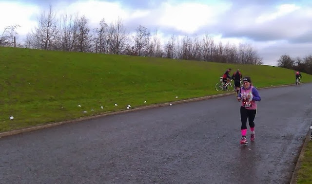 Winter Duathlon Dorney Lake