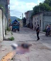 Acribillan a director de la Policía Preventiva del Ayuntamiento de Huamuxtitlán