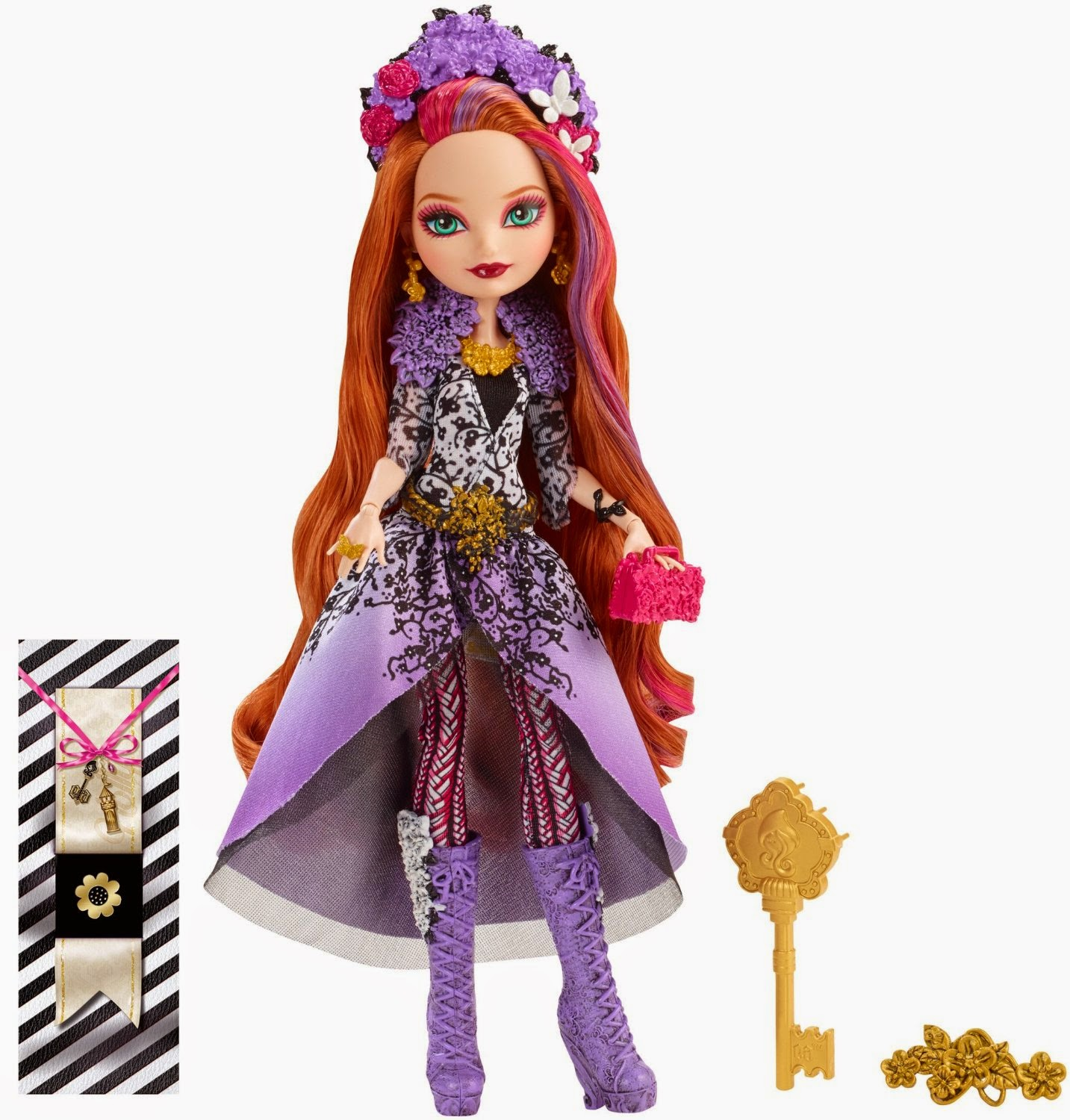 Ever After High Spring Unsprung Cedar Wood Doll Outfit Clothes Dress Shoes NEW