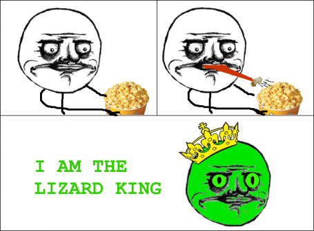 Me Gusta - I Am The Lizard King