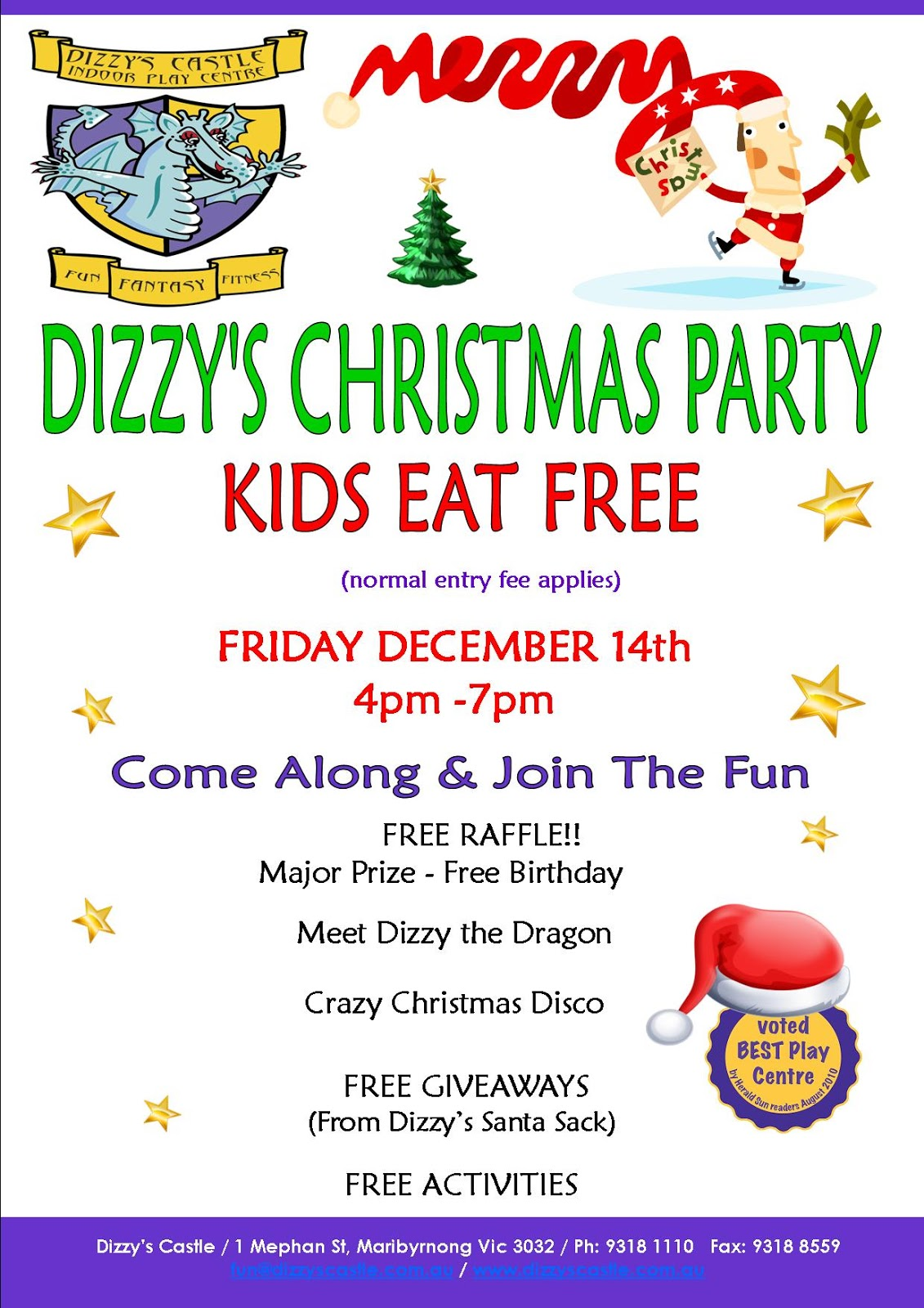 Dizzy\'s Castle Indoor Play Centre: It\'s Christmas Time Again At ...