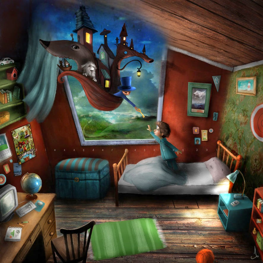 12-Alexander-Jansson-Fairy-tale-Worlds-in-Surreal-Paintings-www-designstack-co