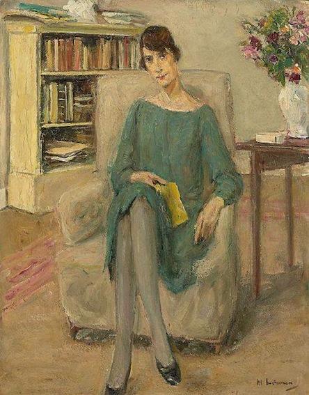 Portrait Max Liebermann. Genia Levine, 1924