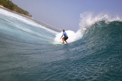 Pantai Tanjung Setia Lampung Surga Wisata Para Peselancar