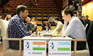 Anand vs Kazimdzhanov 2005