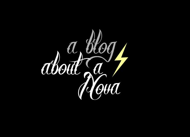 a blog about a nova