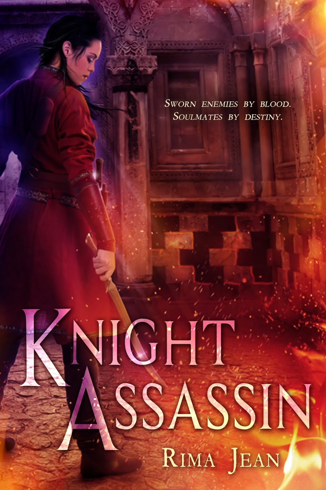 Cover Reveal and Giveaway: Knight Assassin by Rima Jean
