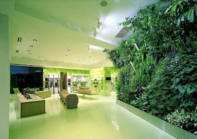 Jardines verticales monterrey mas fotos de interiores for Jardines verticales concepto