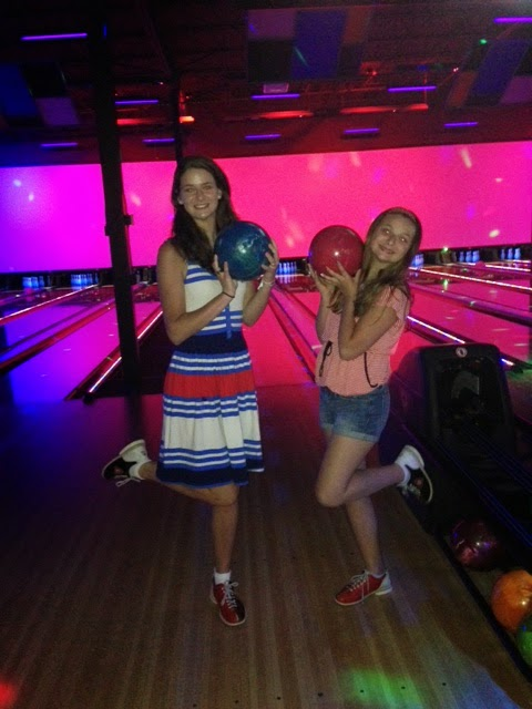 Bowling on the 4th of July