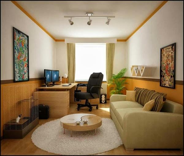 desain ruang tamu mungil