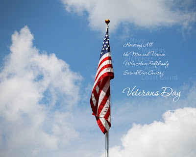 Free Veterans Day PowerPoint Background 9