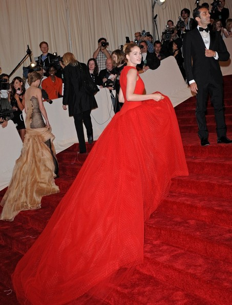 "Doutzen Kroes at the ""Alexander McQueen: Savage Beauty"" Costume Institute Gala held at The Metropolitan Museum of Art on May 2, 2011 in New York City."
