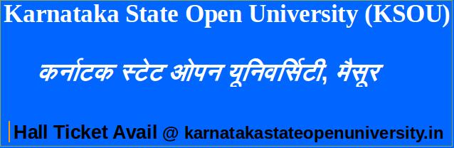 ba 1st year karnataka open university