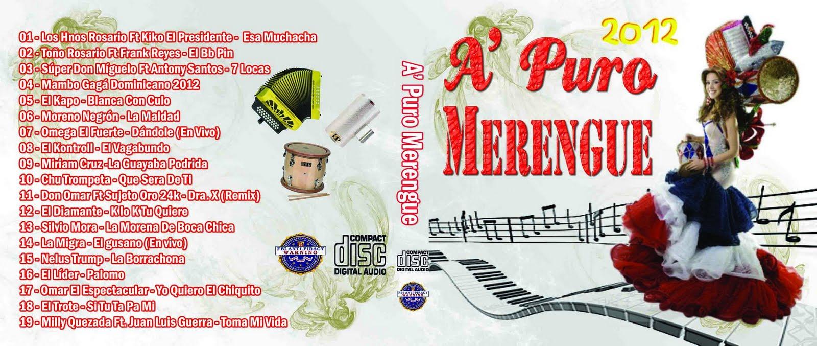 video de musica merengue:
