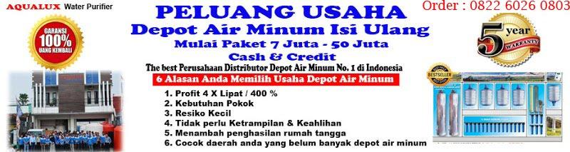 082260260803, AQUALUX Pusat Distributor Depot Air Minum Isi Ulang Galon Surakarta