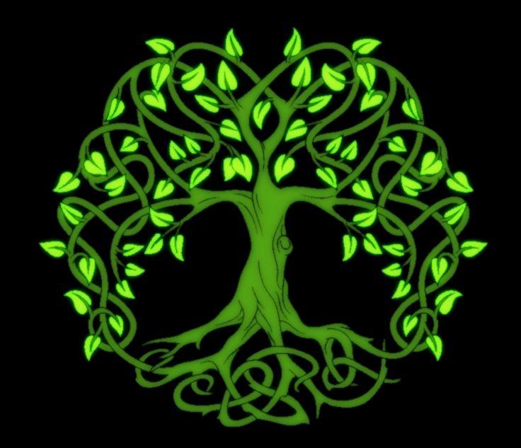 Crann bethadh arbol de la vida celta