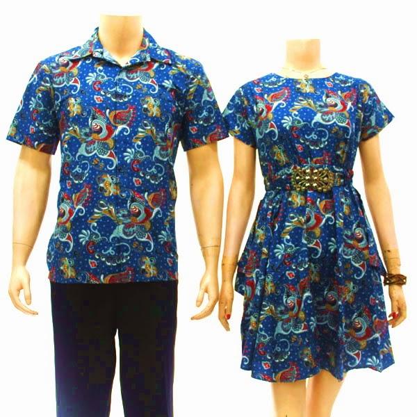 Butik Baju Batik Dress Sarimbit Eksklusif Modern 2012