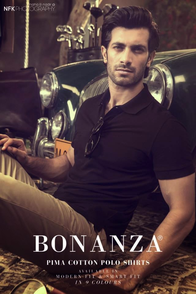 BonanzaSpring Summer2014ForMen 3  - Bonanza Pima Cotton POLO Shirts 2014 -2015 For Men