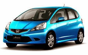 honda jazz warna biru