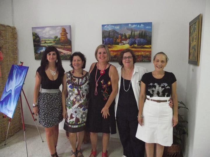 Exposición de pintura y recital en Sanlucar de Guadina