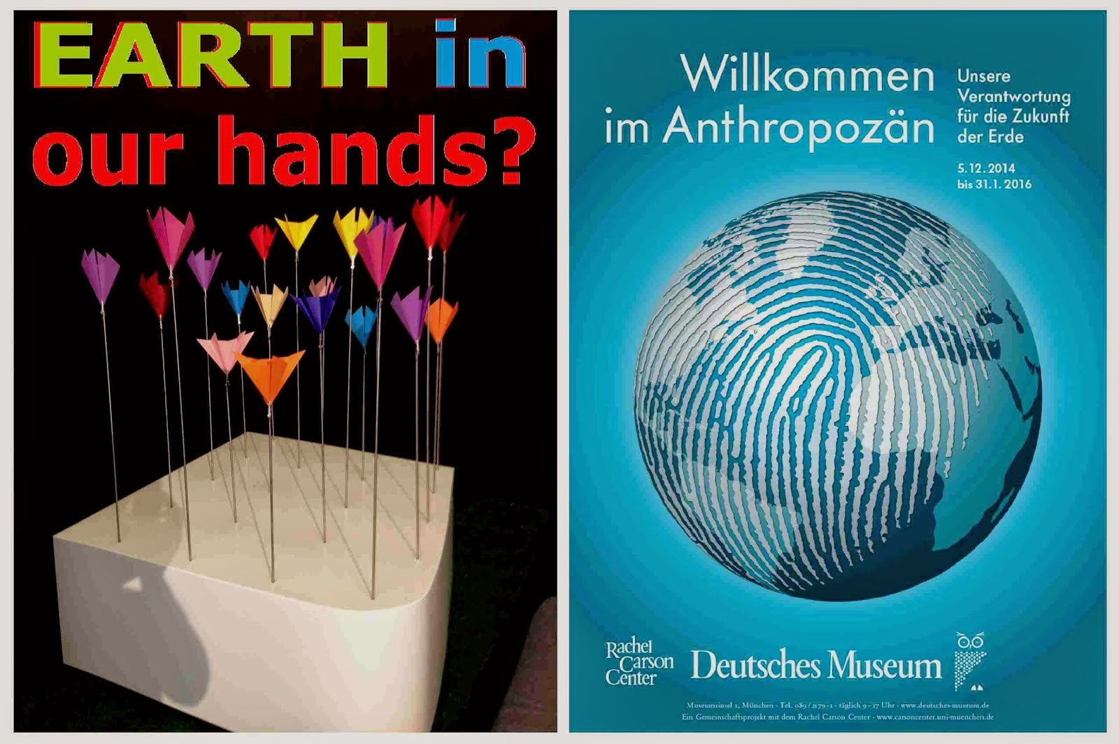 anthropozän deutsches museum münchen DIE GEISTIGE REVOLUTION - NATUR in unserer hand