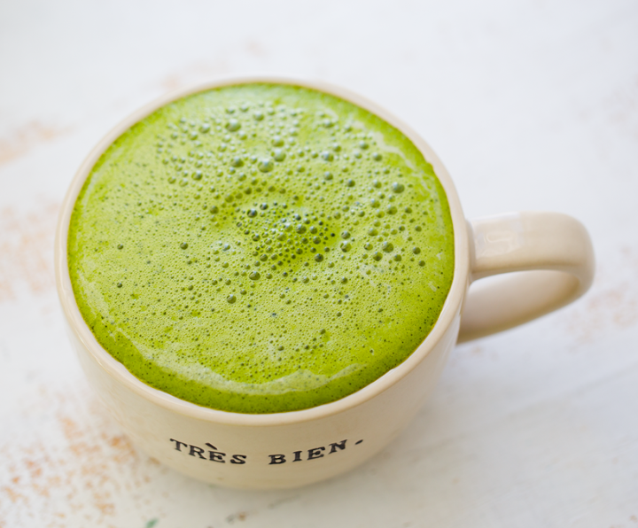 Mint Matcha Latte
