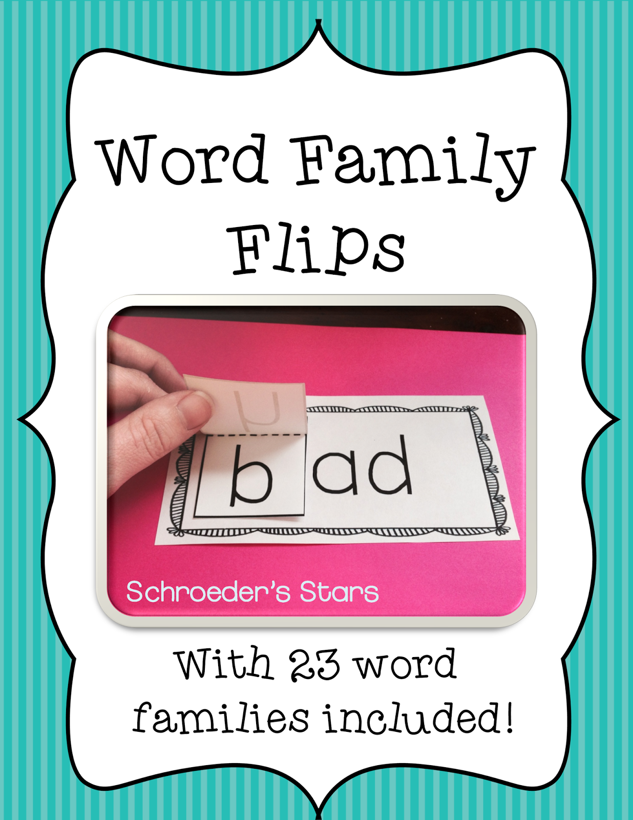 http://www.teacherspayteachers.com/Product/-Flash-Freebie-Word-Family-Flips-CVC-Word-families-1191825