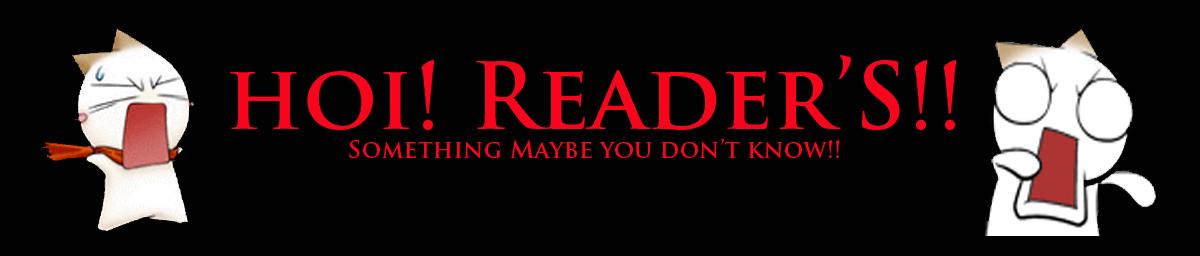 HOI! READER'S!