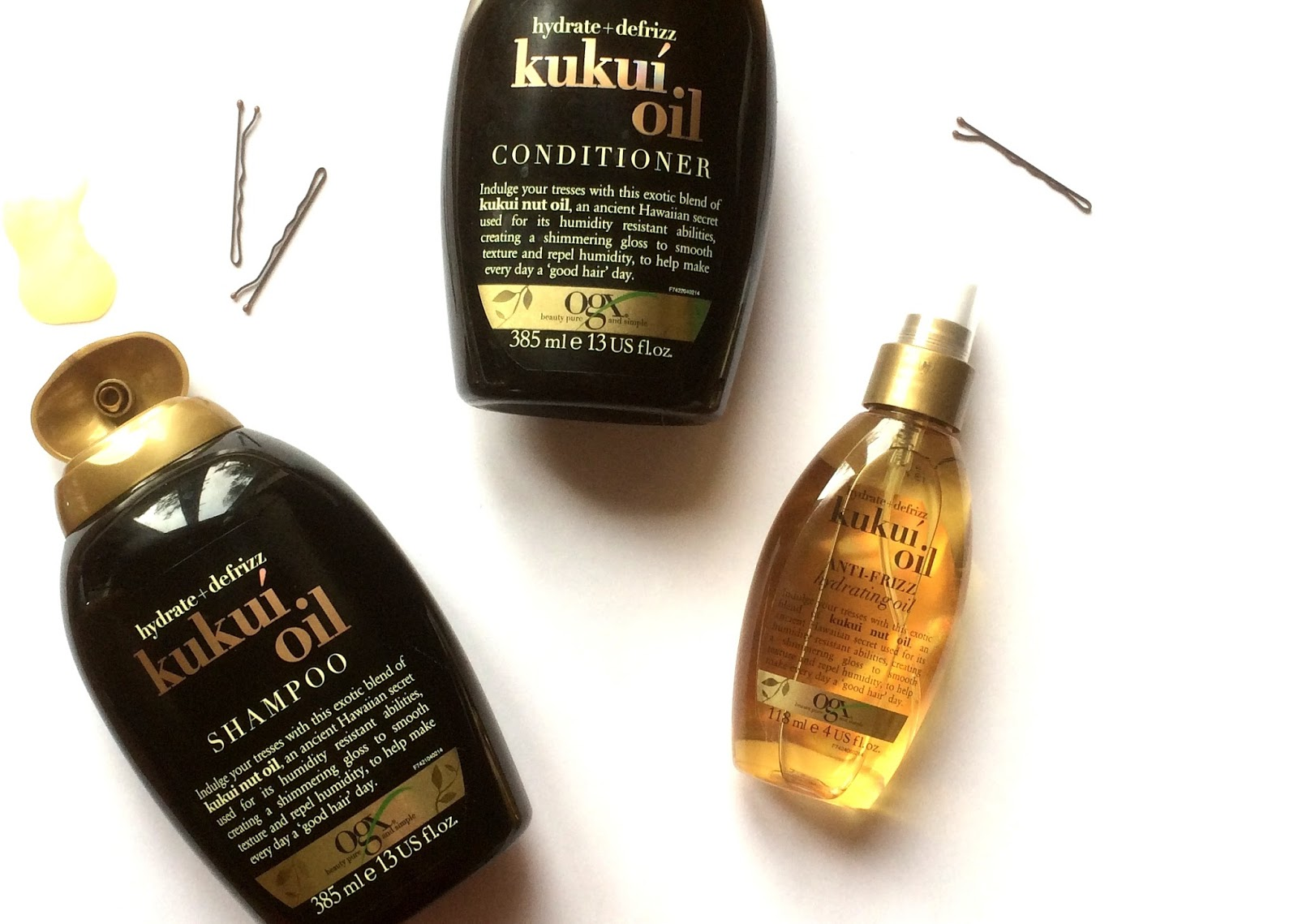 OGX Kukui Oil Range Review