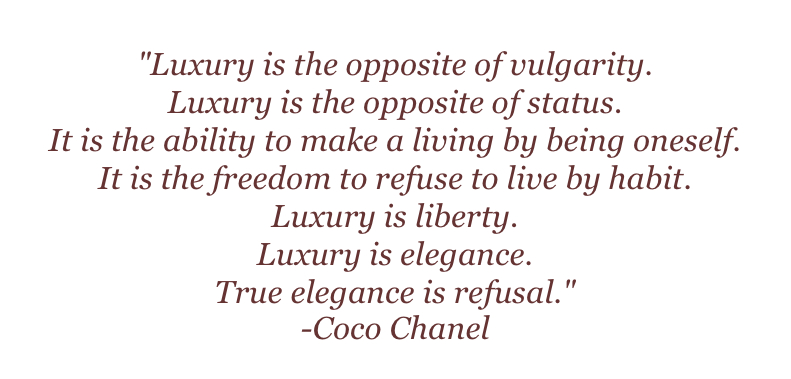 For which woman Coco Chanel isn't a role model? Well, I think that ...