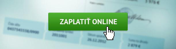 Objednávka - platba online