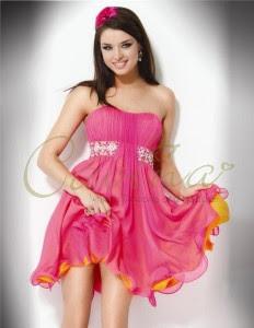 Chiffon-homecoming-dresses