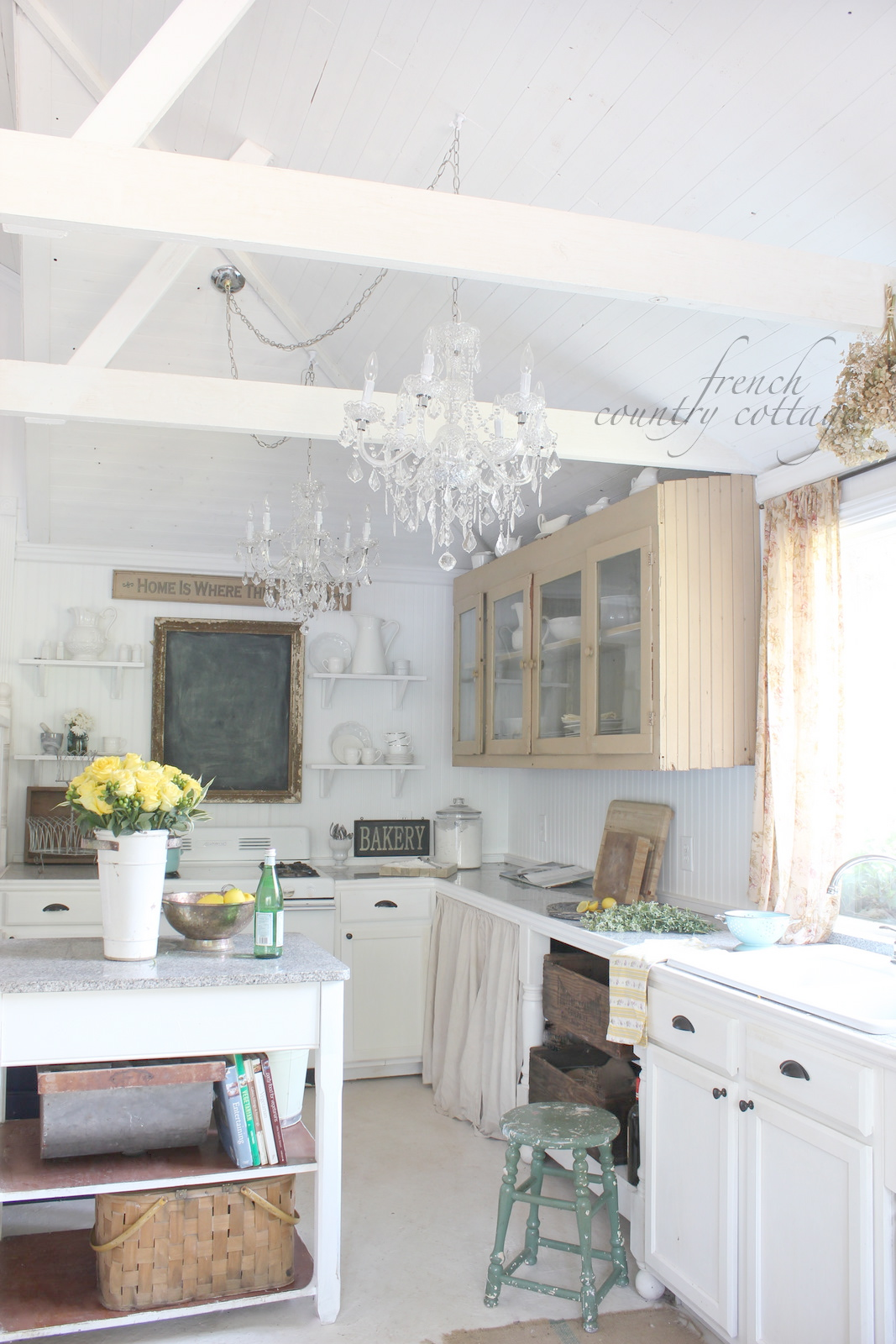 Cottage kitchen tour french country cottage for French country cottages