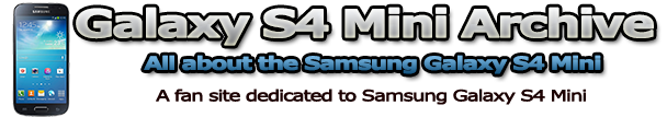 Galaxy S4 Mini Archive - Custom ROMs, Tips and Tricks