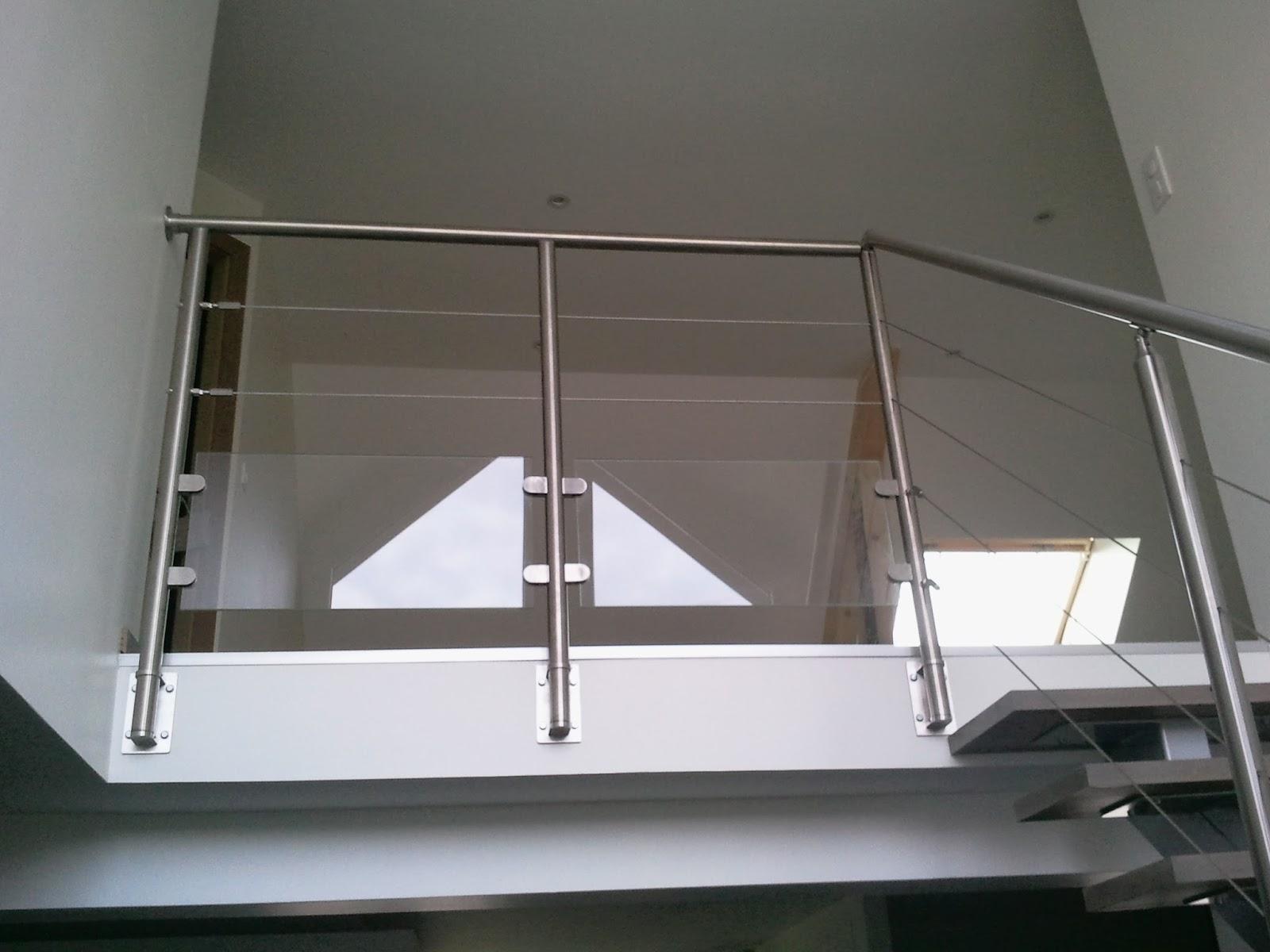 Bricolage de l 39 id e la r alisation un escalier design et contemporain - Construire garde corps ...