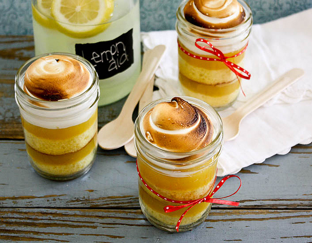 Lemon Meringue Pie in a Jar Recipes Hubs