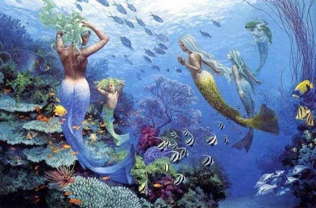 Los Siniestros Demonios Del Mar   Sirenas Y Tritones
