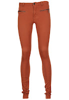 Pantaloni VILA Baddo Dark Orange (VILA)