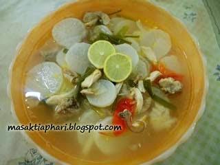 Cara membuat soto Bandung