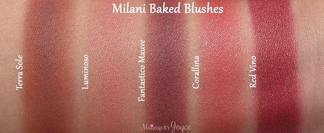 Milani Red Vino vs Corallina Swatch