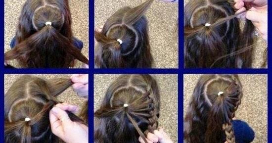 Coletas de trenzas para ni as foto tutorial peinados - Tutorial de peinados ...