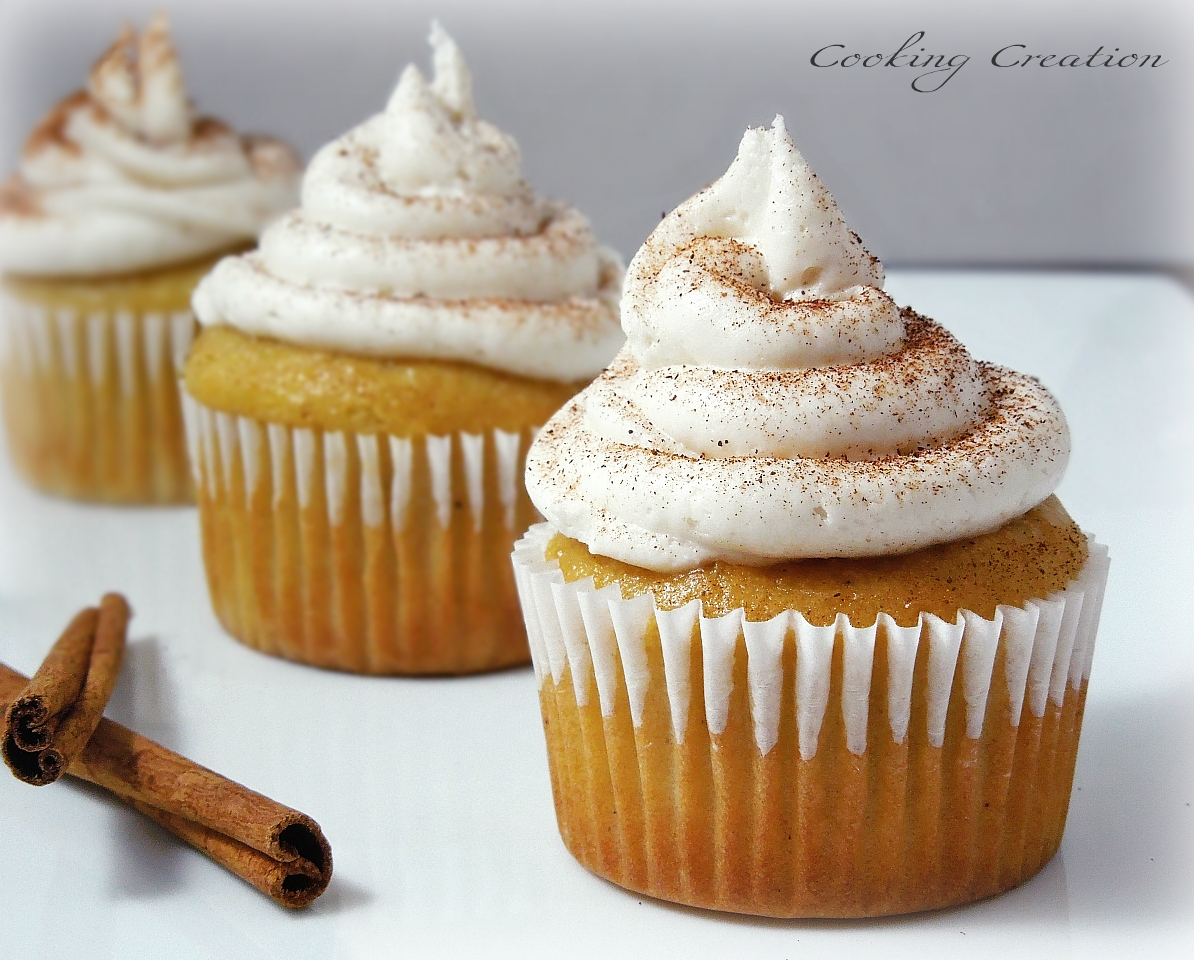 Cooking Creation: Eggnog Cupcakes with Kahlua Buttercream ...