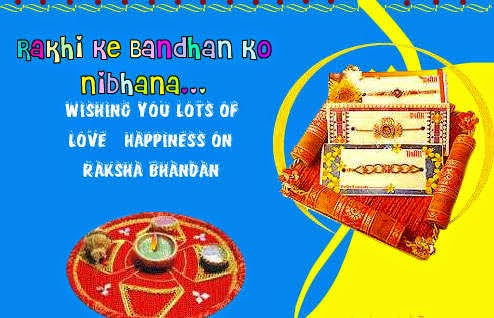Happy Raksha Bandhan Hindi Messages,wishes