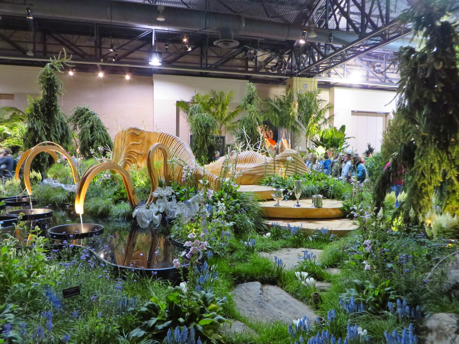 Washington Speaks At the 2015 Philadelphia International Flower Show