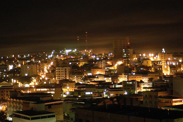 Vista Noturna de Nova Serrana